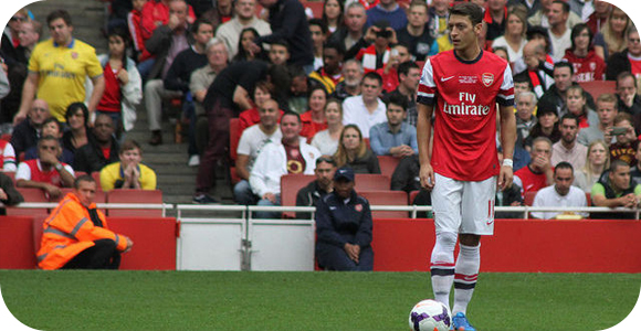 Arsenal Player Ozil Believes in team